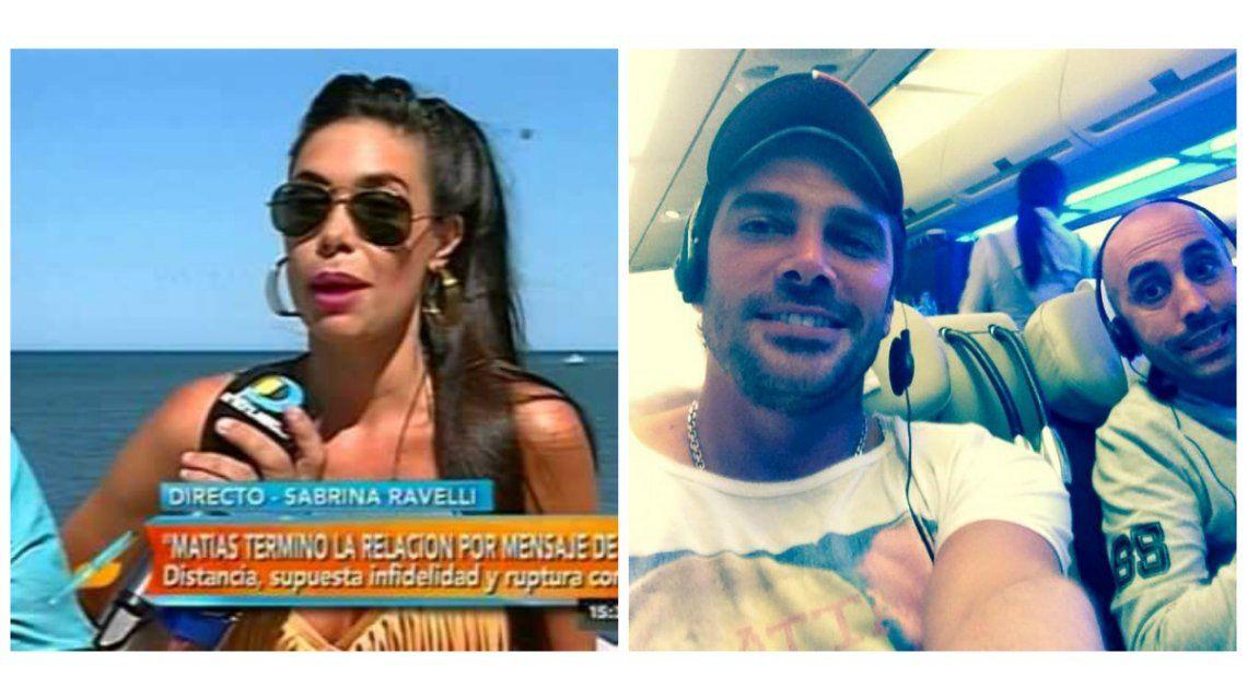 Matías Alé dejó definitivamente a Sabrina Ravelli: se fue a Miami y a un crucero de solteros
