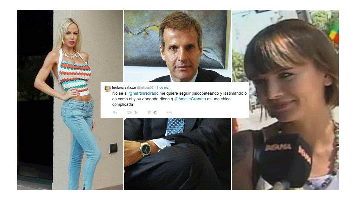 Luciana Salazar denuncia ser víctima de un triángulo macabro y Amalia Granata le contesta