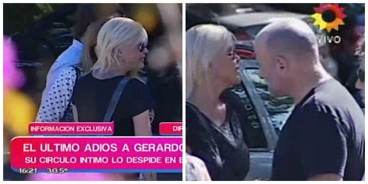El desgarrador llanto de Nazarena Vélez en el último adiós a Gerardo Sofovich