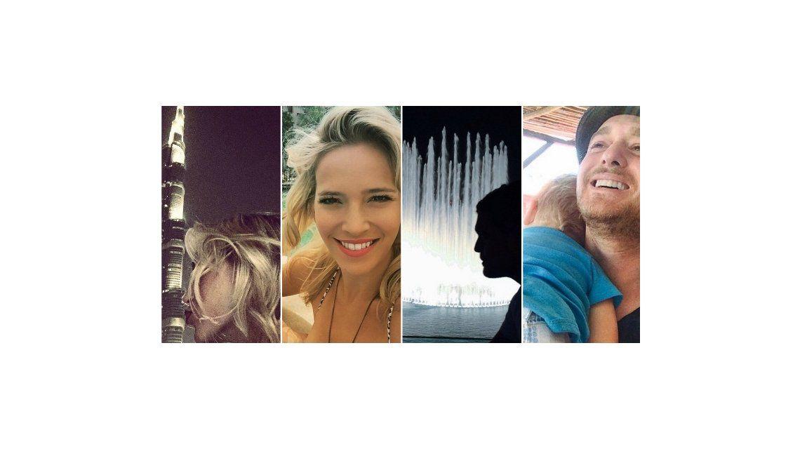 Las vacaciones de Luisana Lopilato y Michael Bublé en Dubai