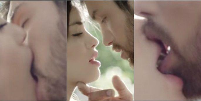 El videoclip hot de Lali Espósito besando  a un hombre: ¿qué dirá Benjamín Amadeo?