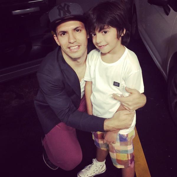 Sergio Kun Agüero está en Argentina: la sorpresa que le hizo a Benjamín, su hijo con Gianinna