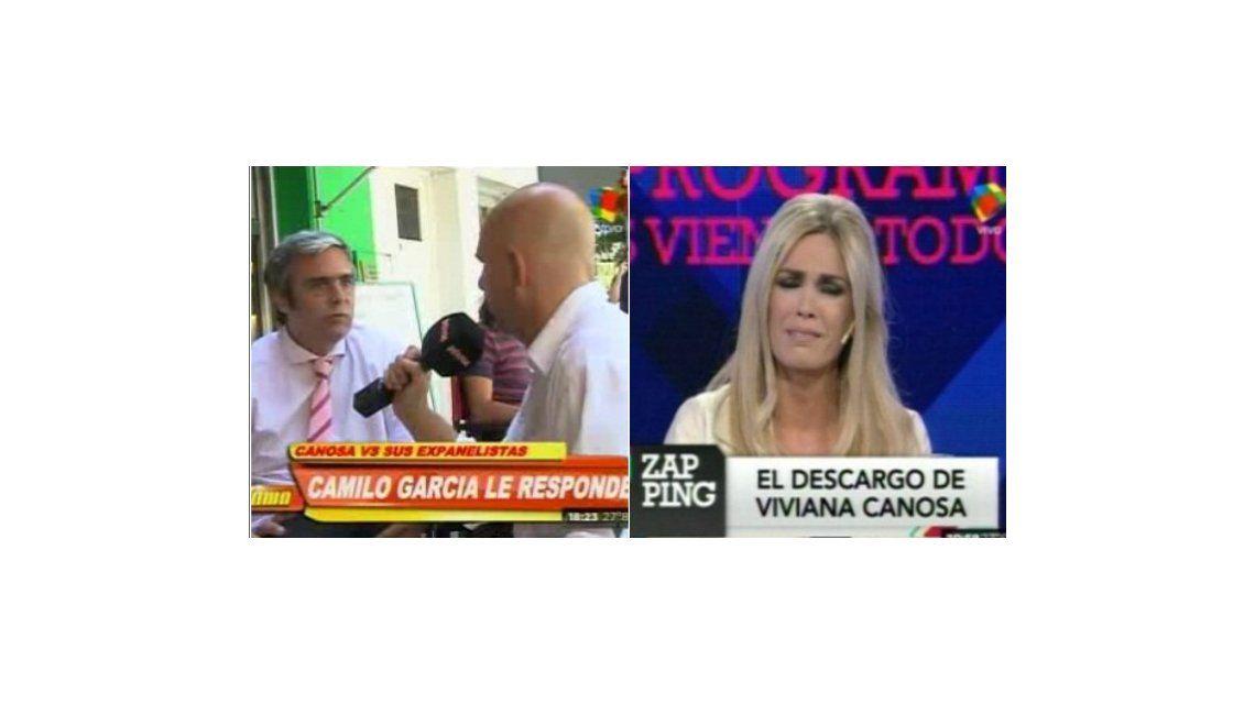 Camilo García vs Viviana Canosa: Dejate de tonterías, hace bien tu programa y tratá de divertir a la gente