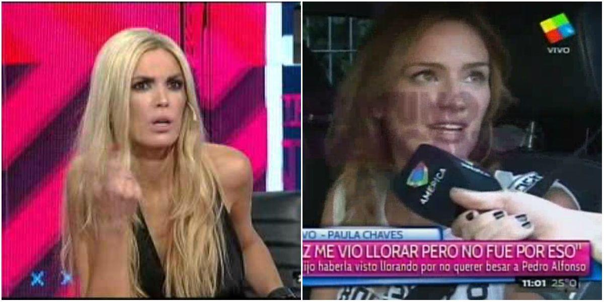 Canosa dijo Paula lloraba porque no quería besar a Pedro: la respuesta de Chaves