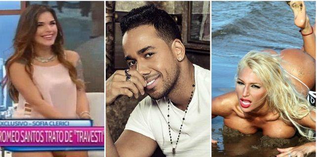 Romeo Santos habría tratado de travesti  a Vicky Xipolitakis: ¿qué preguntó?