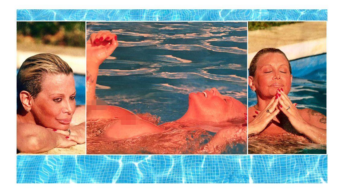 El Topless Menos Pensado Carmen Barbieri Desnuda En Mar Del Plata