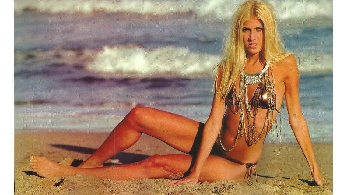 Quién es Candela, la hija modelo de Oscar Ruggeri que fue revelación del verano y ya la quieren en el Bailando 2015