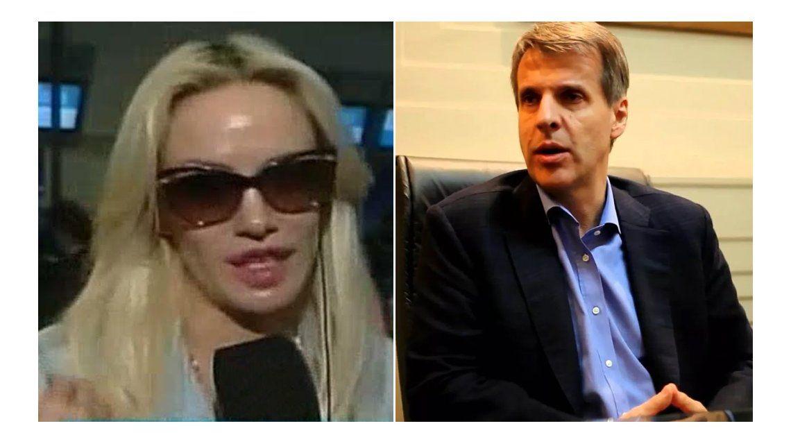 Escandalosa pelea de Martín Redrado y sus hijos por Luciana Salazar: Nos llevás a Miami para encontrarte con esa p...