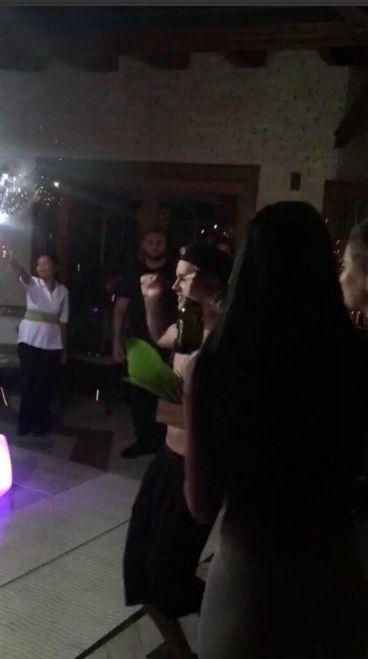 El alocado festejo de cumpleaños de Justin Bieber
