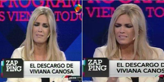 Viviana Canosa se quebró al aire: Cuando me acusan pienso ¿por qué son tan hijos de p...?