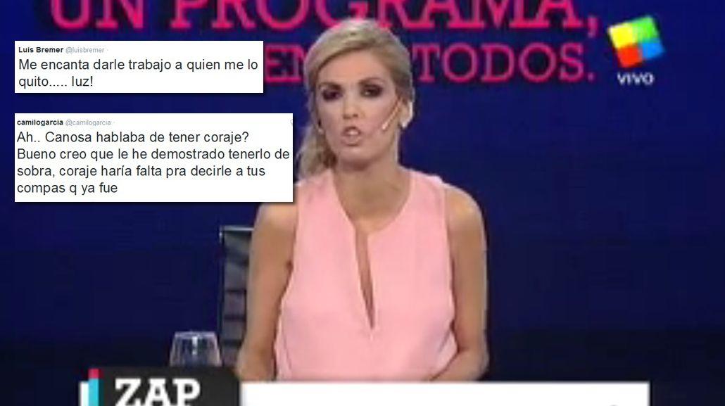 El ataque de furia de Viviana Canosa: la reacción de sus ex panelistas