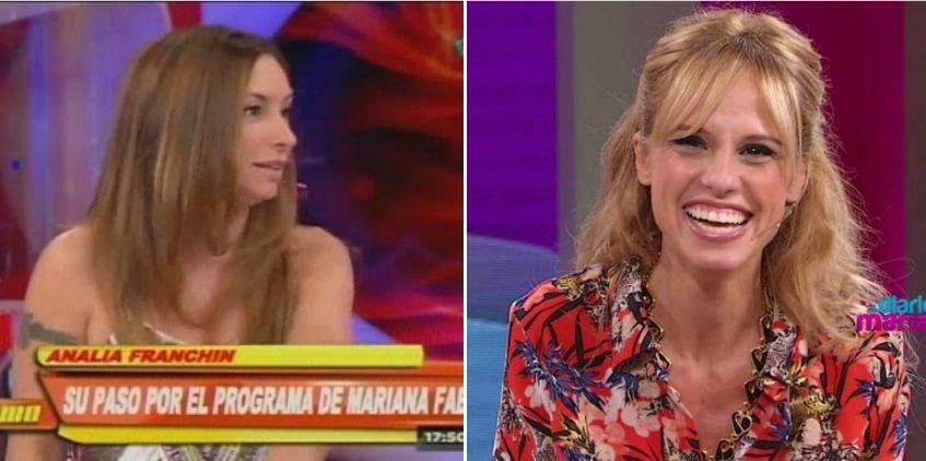Analía Franchín contó su versión tras su salida de El diario de Mariana