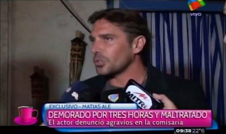 Matías Alé: Le pido al que me tiene agarrado de  los huevos que me libere