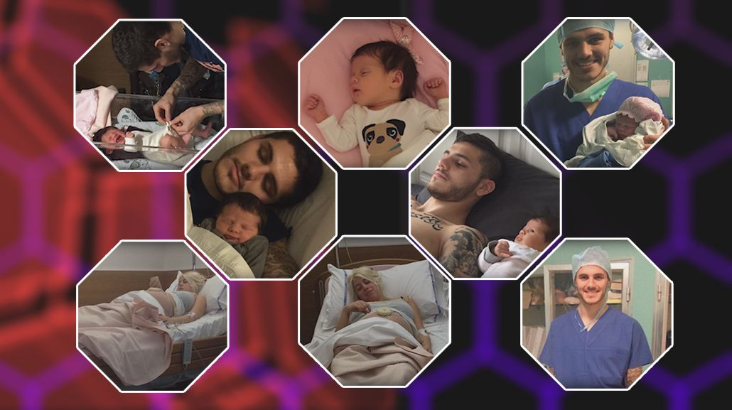 Por primera vez, Wanda Nara y Mauro Icardi contaron como empezó su relación, y muestran nuevas fotos de su beba