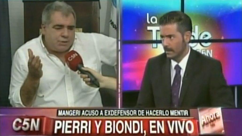 La inesperada reconciliación televisiva entre Marcelo Biondi y Miguel Ángel Pierri
