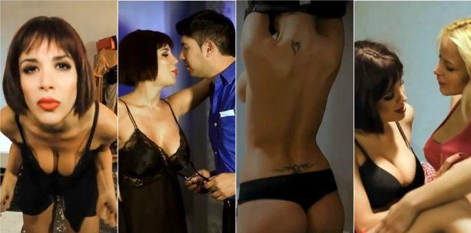Las imágenes hot de la película de Andrea Rincón