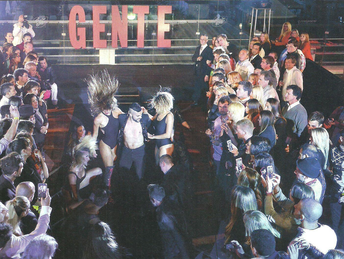 La intimidad de la fiesta de Gente: mirá las divertidas fotos de los famosos descocados