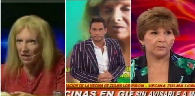 Zulma Lobato volvió a la televisión y fue TT: su furia con Rodrigo Lussich y la denuncia de una vecina