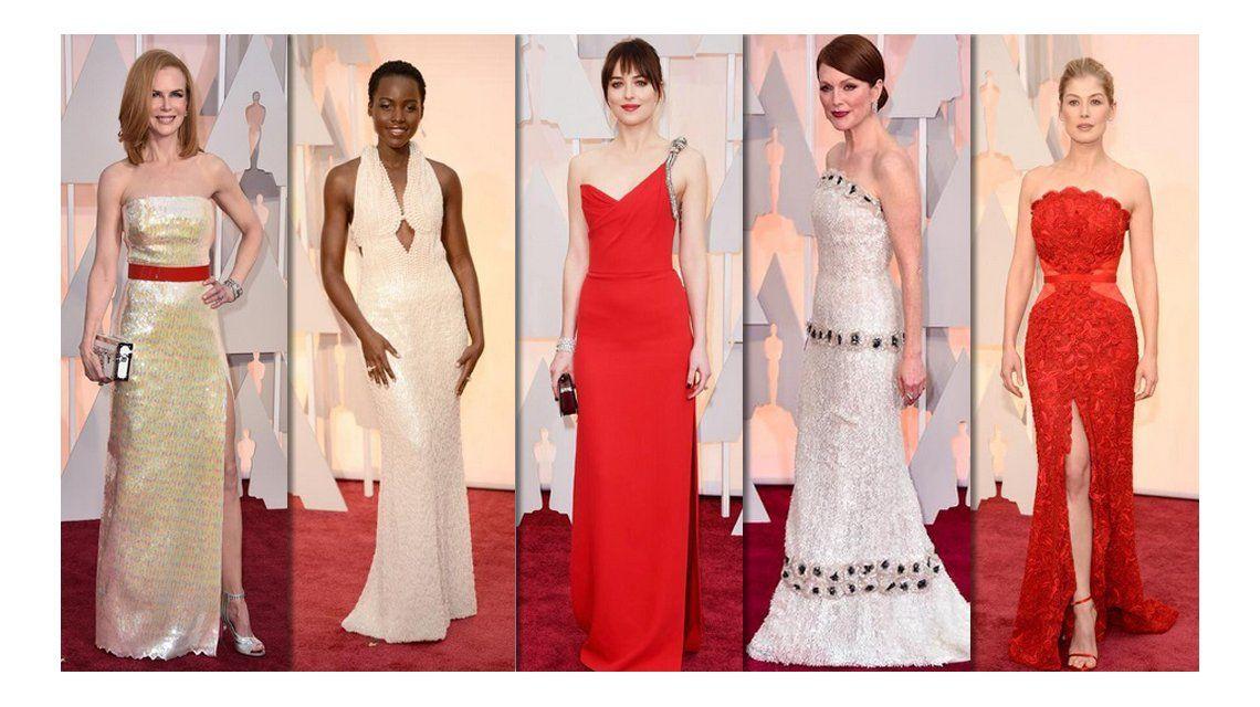 Estos son los mejores looks de los Oscar 2015