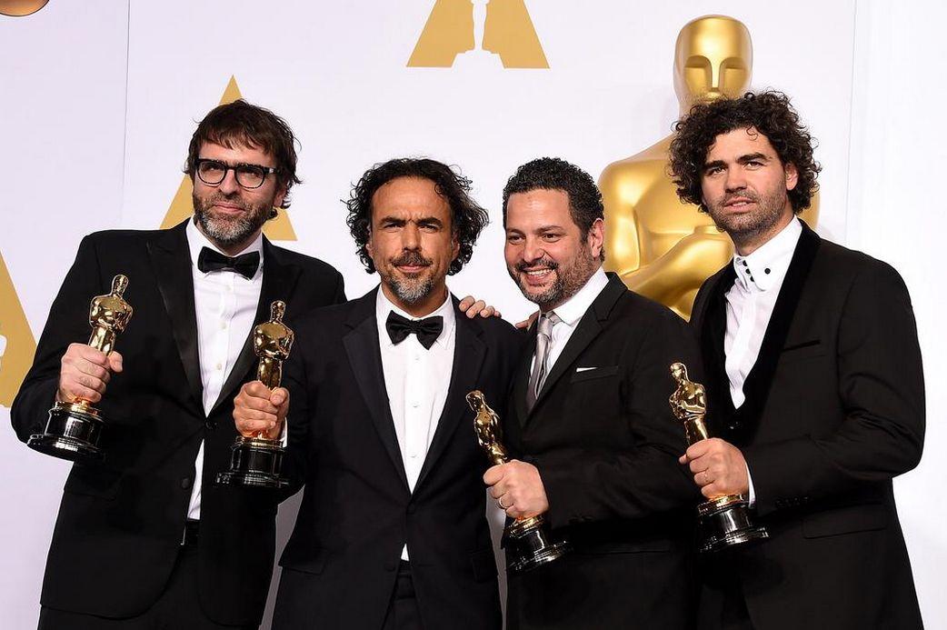 Ola de famosos fanatizados con Birdman, la gran ganadora de los Oscars