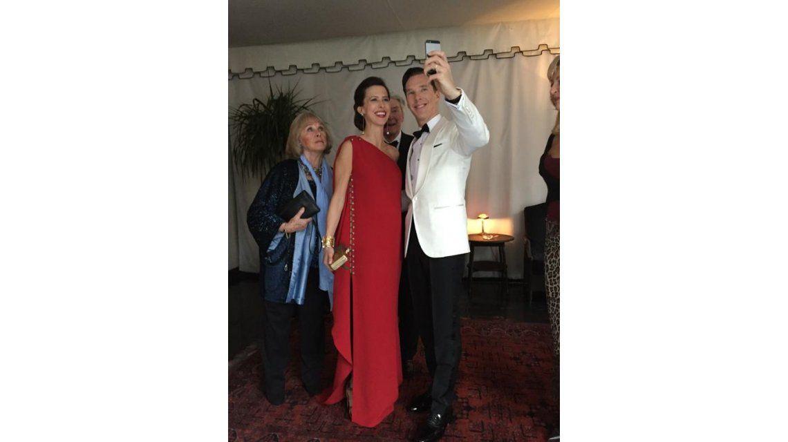 Otra vez, la selfie fue protagonista en los Premios Oscar