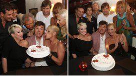 Carlín Calvo festejó sus 62 años en Mar del Plata