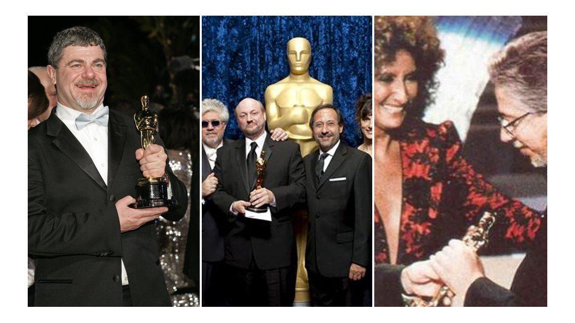 Los argentinos que alcanzaron el Oscar