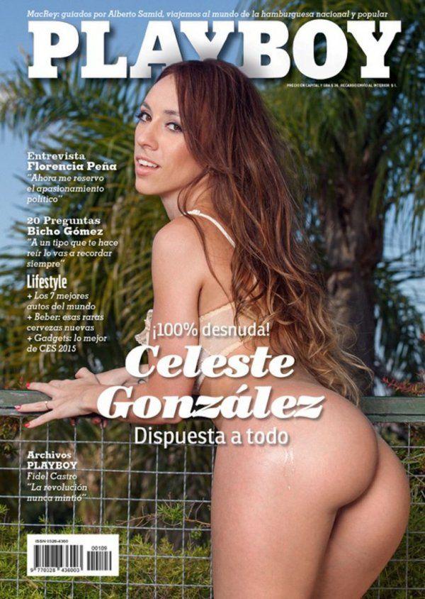 La argentina que conquistó a Obama, desnuda en Playboy
