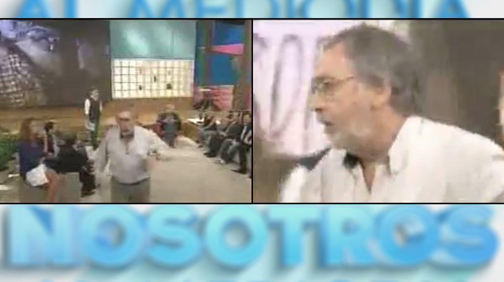 Luis Bradoni abandonó el programa de Fabián Doman en medio de un debate caliente