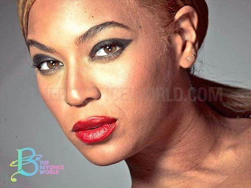 Se filtraron fotos de Beyoncé sin photoshop: una cara que habla