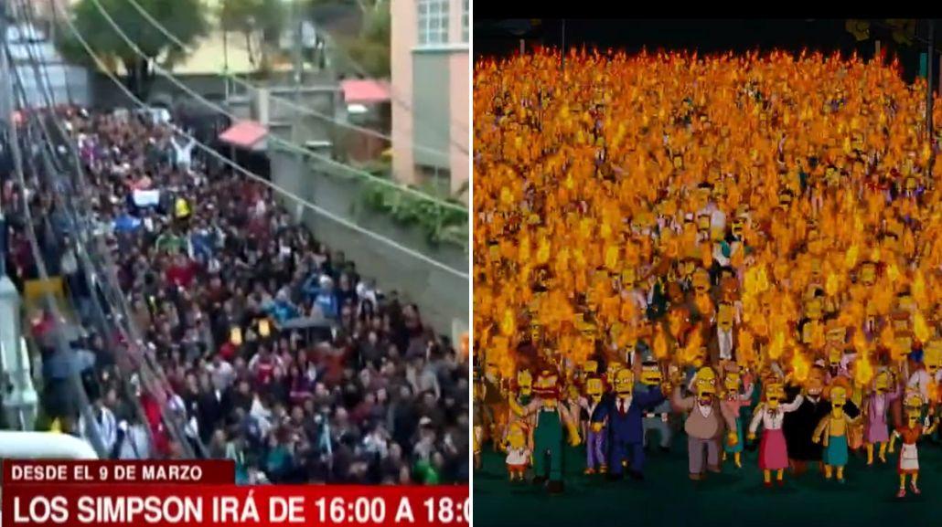 La fan page oficial de Los Simpson agradeció a Bolivia por su apoyo