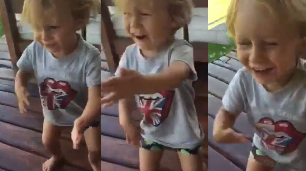 El divertido baile de Beltrán, el hijo de Pampita y Vicuña