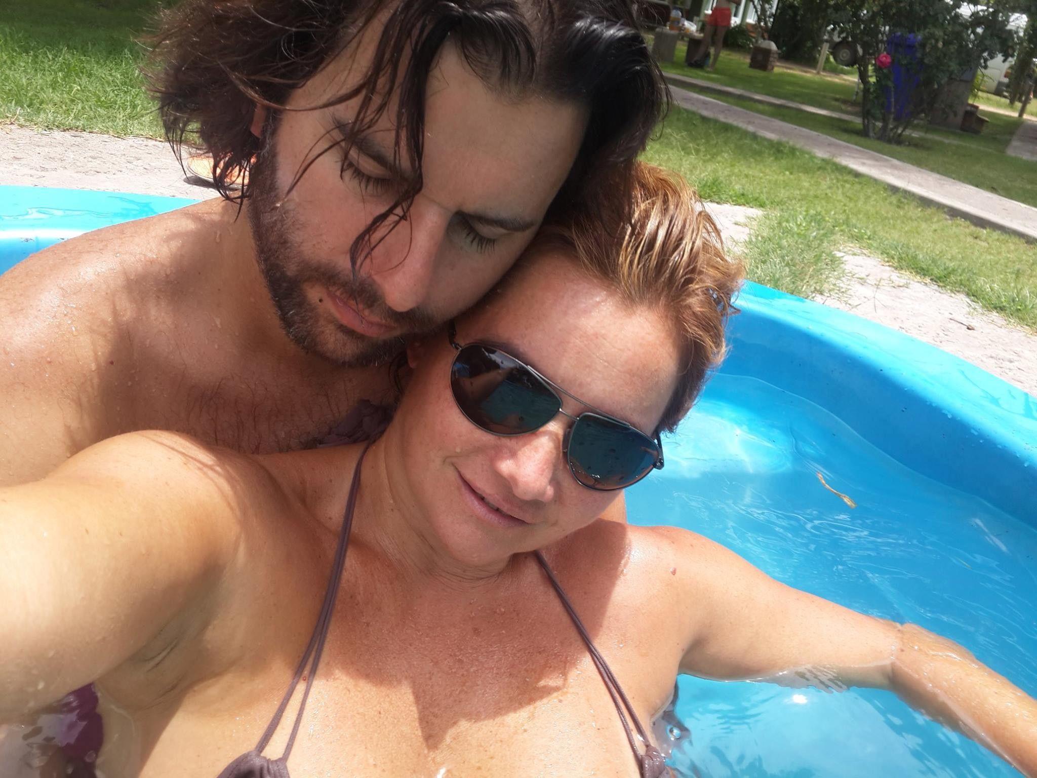 La famosa que subió a las redes una foto desnuda con su pareja: A mi hombre...