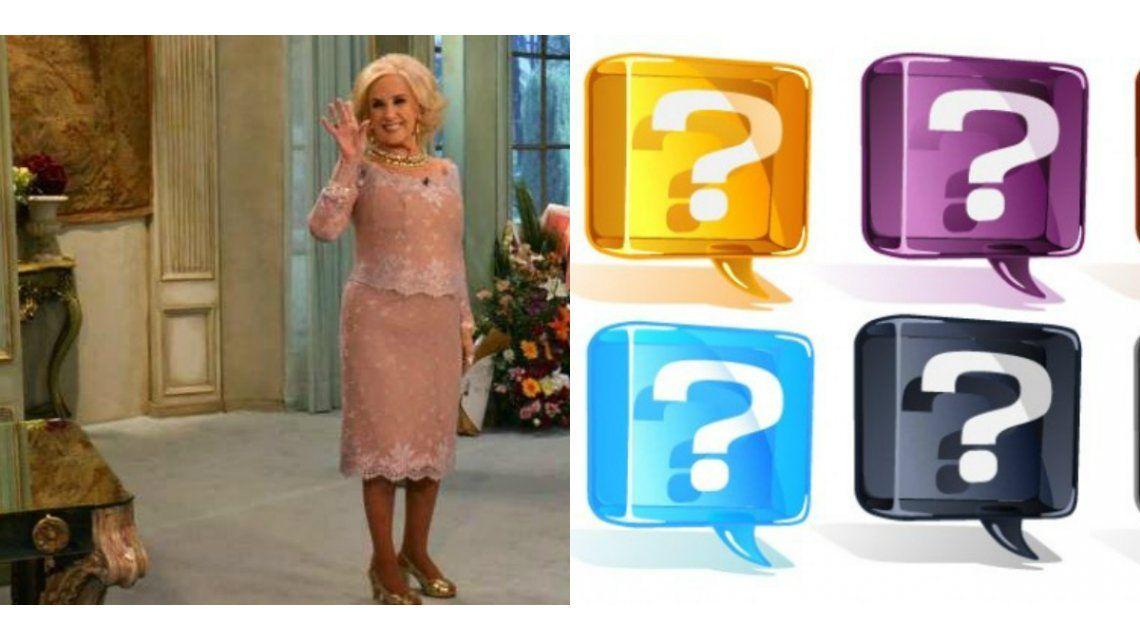 ¿Qué invitados polémicos tendrá Mirtha Legrand este fin de semana?