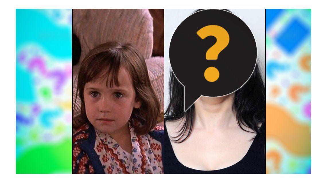 Cómo está hoy la protagonista de Matilda: su cambio de vida