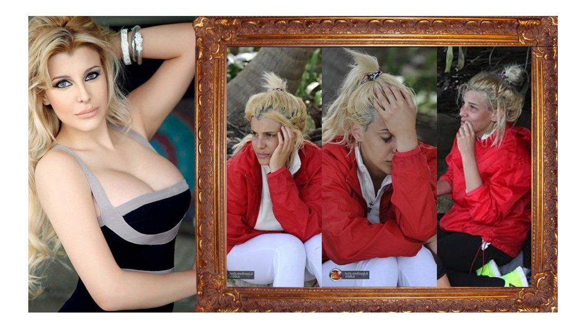 Las fotos de Charlotte Caniggia en su peor momento: chuzas desteñidas y sin maquillaje