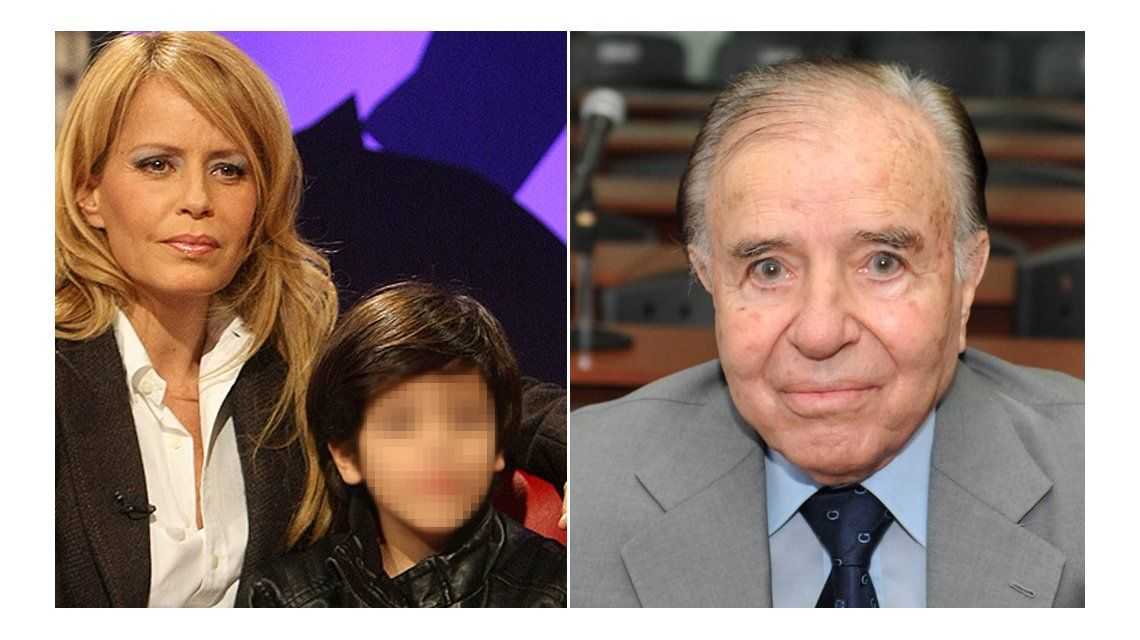 En una biografía no autorizada de Cecilia Bolocco revelan que su hijo no es de Menem