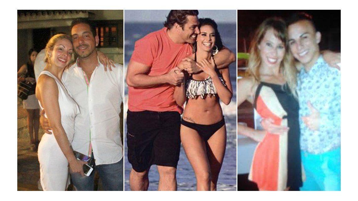 La trama secreta del affaire Ariel Diwan, Gisela Bernal, Matías Alé y Sabrina Ravelli