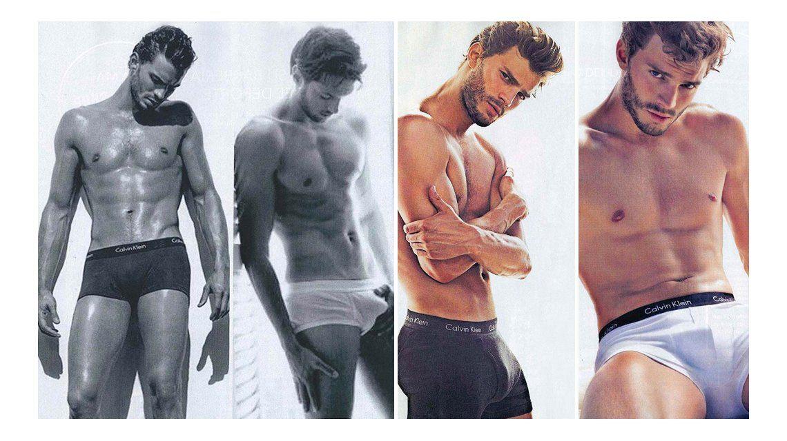 Las fotos hot del protagonista de 50 sombras de Grey: En el filme hice cosas que jamás le haría a una mujer