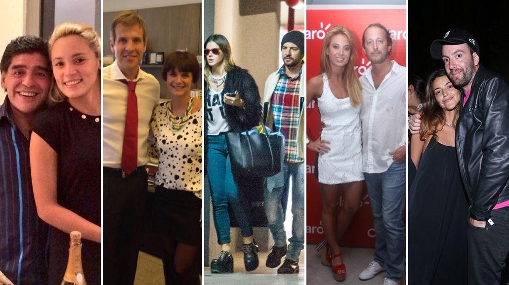 ¿Cuáles son las parejas de famosos argentinos más proclives a ser infieles?