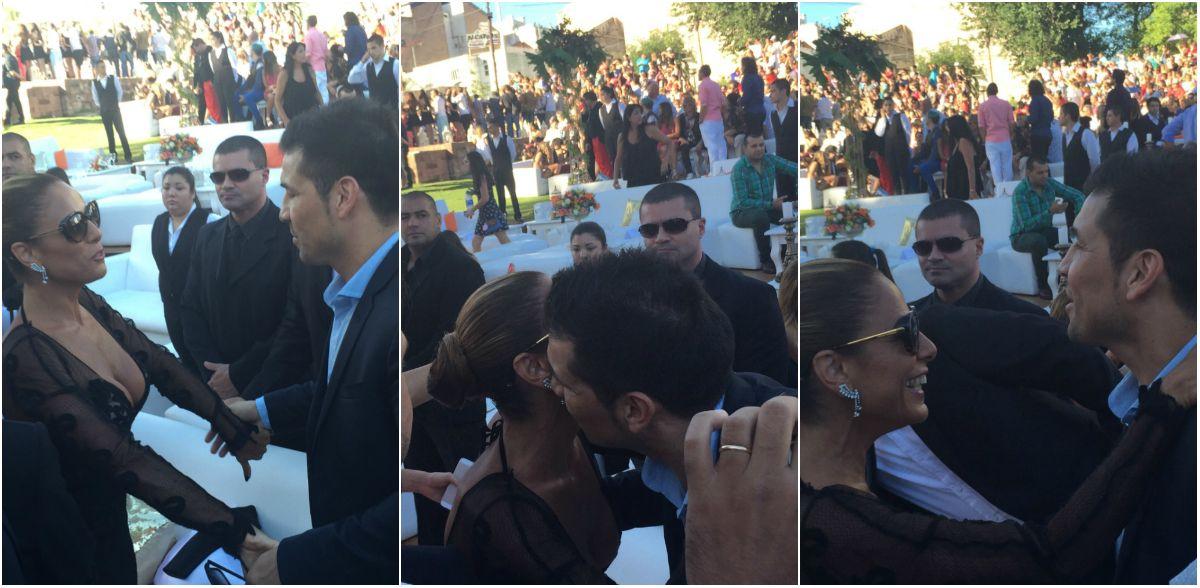 Después de los besos y las peleas, el reencuentro de Iliana Calabró y Maravilla Martínez