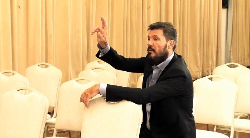 Marcelo Tinelli inauguró su canal de Youtube: mirá el primer video
