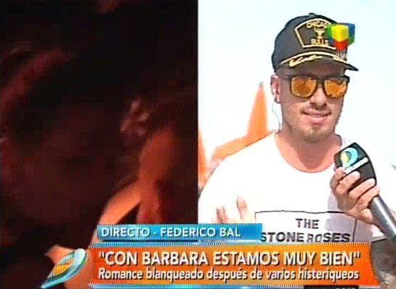 Fede Bal confirma su relación con Barbie Vélez: Nos estamos conociendo y planteamos algunas bases