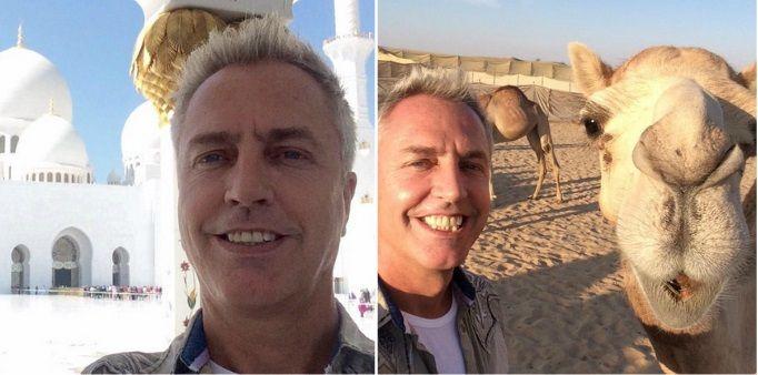 El exótico viaje de Marley a Emiratos Árabes: la divertida comparación con un camello