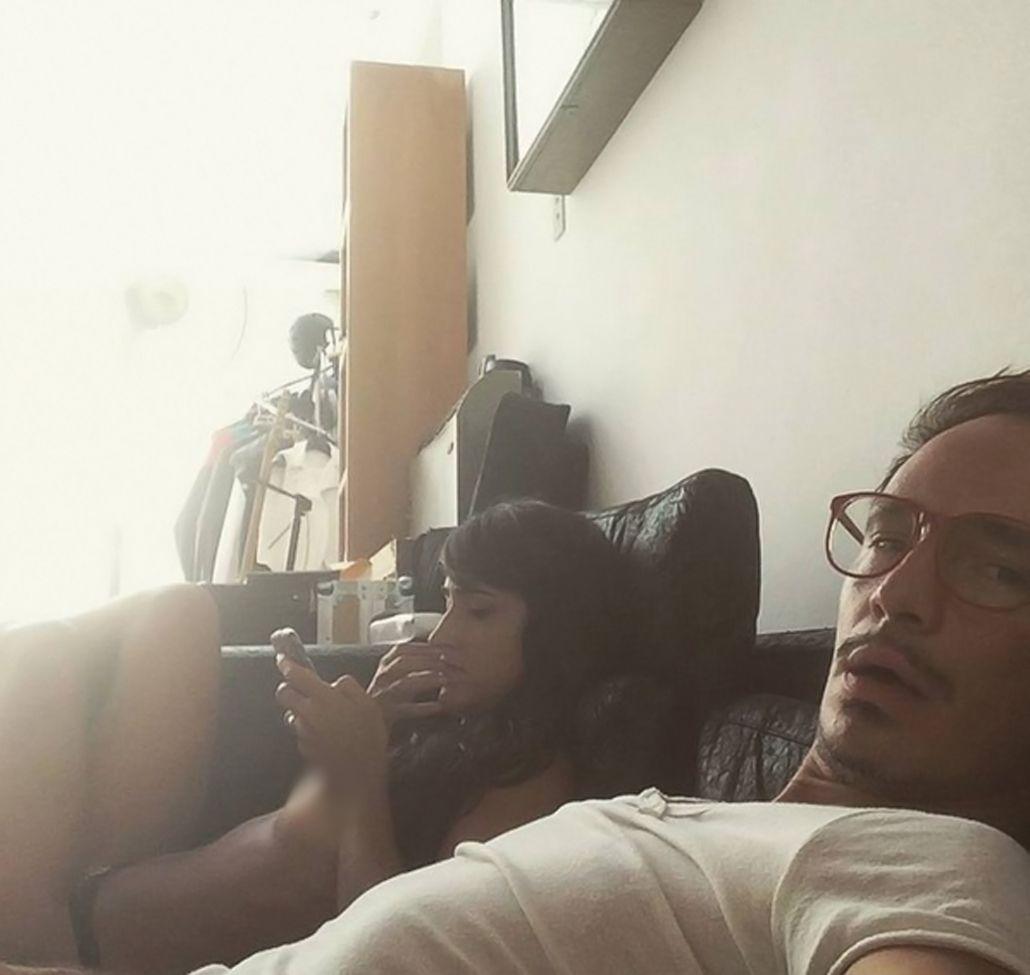 ¡Sin pudores! Emmanuel Horvilleur publicó una imagen de su novia en topless