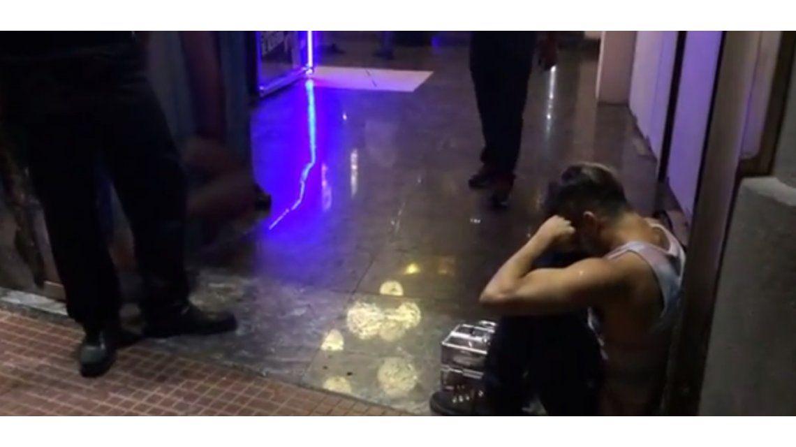 Flavio otra vez hizo de las suyas: echaron al bailarín hostil y hubo escándalo