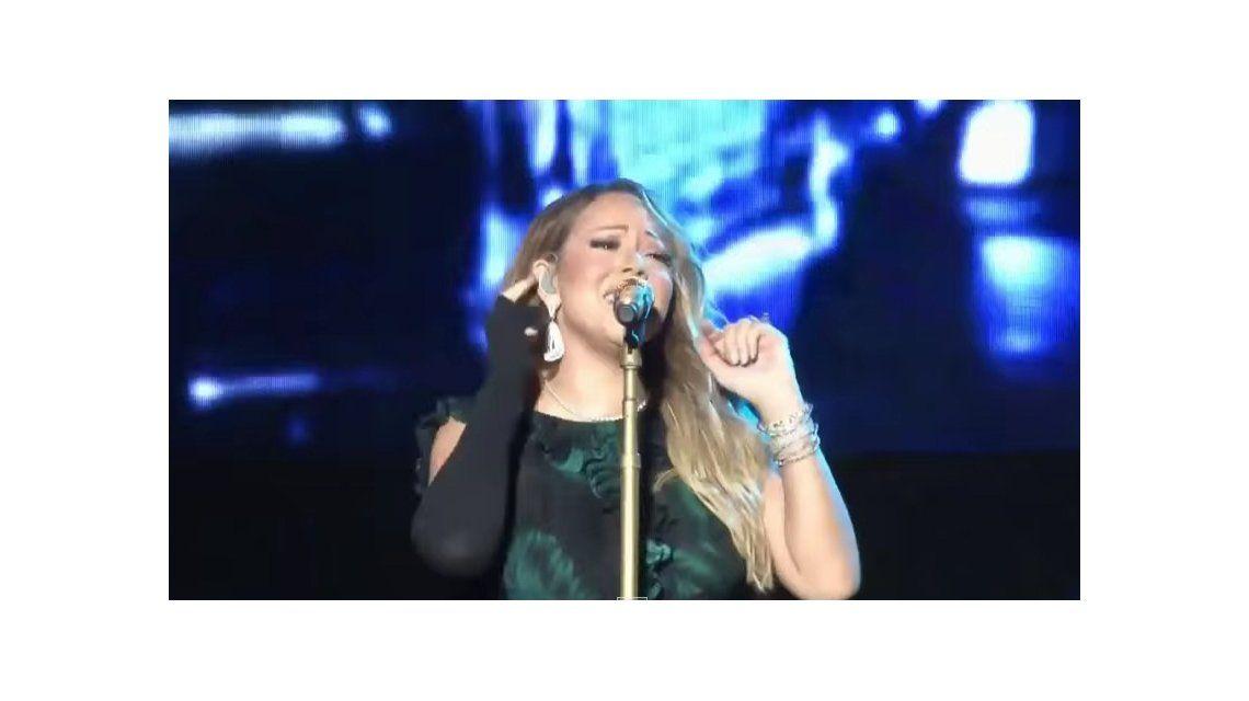 Un papelón: el fallido playback de Mariah Carey en Jamaica