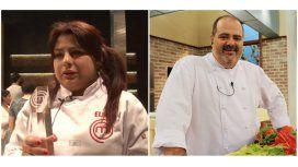 Elba de Masterchef le contestó con todo a Guillermo Calabrese de Cocineros...