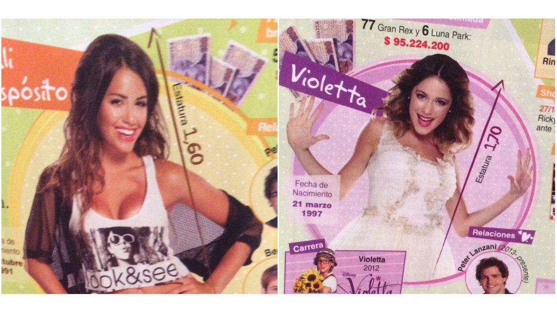 Lali vs Violetta; cifras y polémicas sobre cuánto facturó cada una: 95 millones a 2