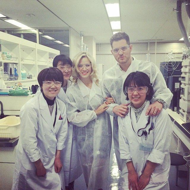 La desopilante experiencia de Luisana Lopilato en un laboratorio de Tokio